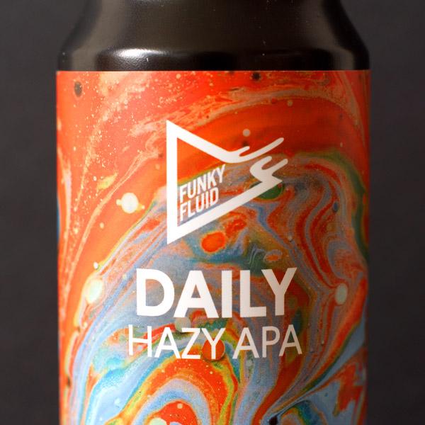 Funky Fluid; Daily; Craft Beer; Remeselné Pivo; Pod vrchnakom; Beer Station; Fľaškové pivo; Hazy APA; New England APA; Distribúcia piva; Poľské pivo