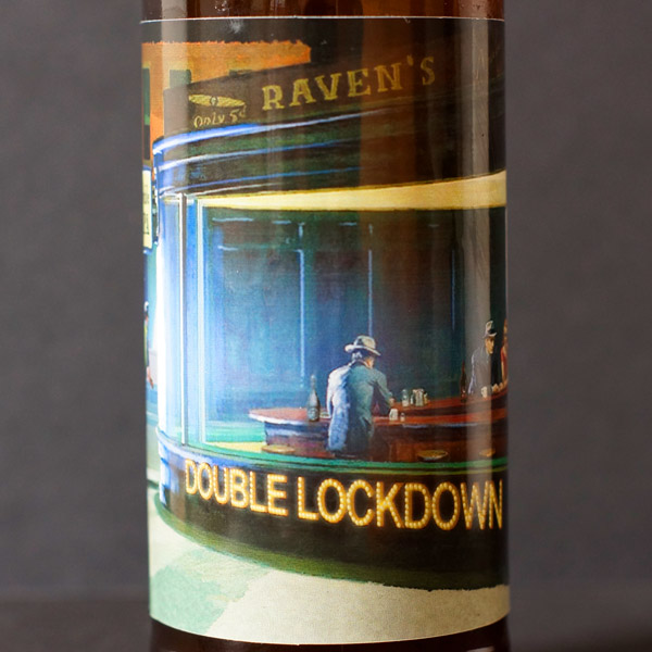 Raven; Double Lockdown 20; Double IPA; Beer Station; pivo e-shop; remeselné pivo; remeselný pivovar; craft beer Bratislava; živé pivo; pivo; Distribúcia piva; pivovar Raven; IPA