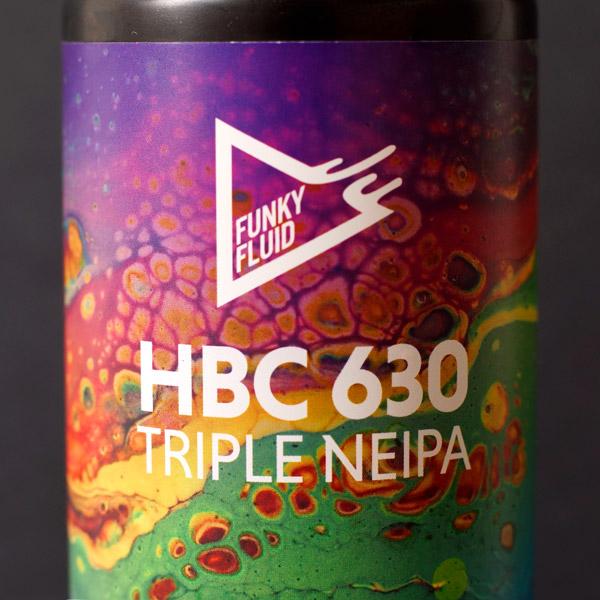 Funky Fluid; HBC 630; Craft Beer; Remeselné Pivo; Pod vrchnakom; Beer Station; Plechovkové pivo; Triple NEIPA; New England IPA; Distribúcia piva; Poľské pivo; Poľský pivovar