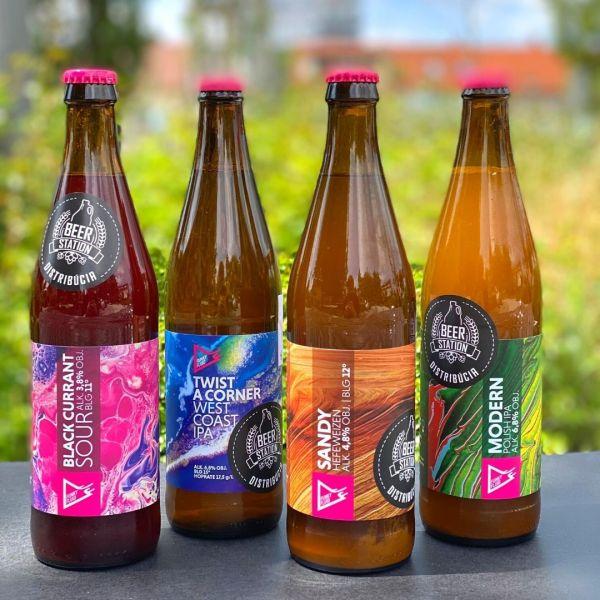 Funky Fluid; 4Pack #3; Craft Beer; Remeselné Pivo; Pod vrchnakom; Beer Station; Fľaškové pivo; Distribúcia piva; Poľské pivo