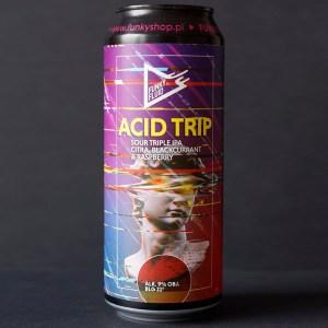 Funky Fluid; Acid Trip Citra Black Currant & Raspberry; Craft Beer; Remeselné Pivo; Pod vrchnakom; Beer Station; Plechovkové pivo; Sour Triple IPA; Sour IPA; Distribúcia piva; Poľské pivo