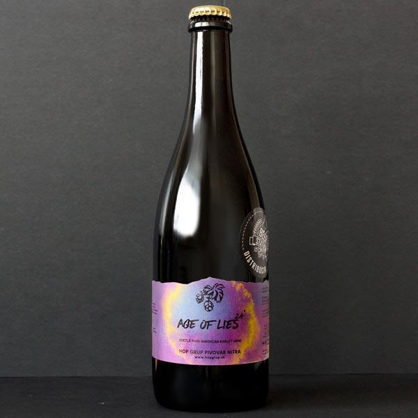 Hop Grup; Age of Lies; Craft Beer; Remeselné Pivo; Živé pivo; Beer Station; Čapované pivo; American Barley Wine; pivo Hop Grup; Barley Wine