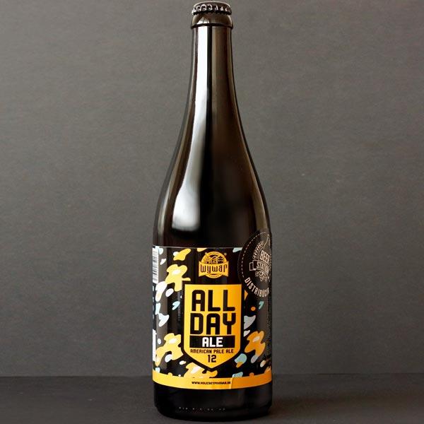 WYWAR; All Day Ale 12°; Craft Beer; Remeselné Pivo; Živé pivo; Beer Station; Fľaškové pivo; APA; Beer Store