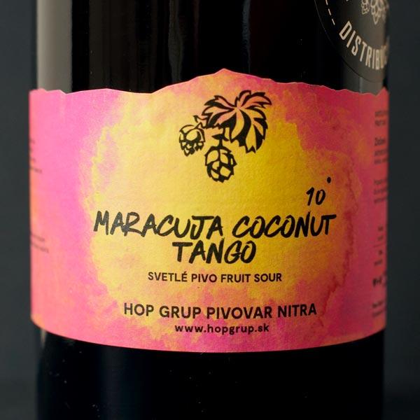 Hop Grup; Maracuja Coconut Tango; Craft Beer; Remeselné Pivo; Živé pivo; Beer Station; Čapované pivo; Sour Ale; pivovar Hop Grup