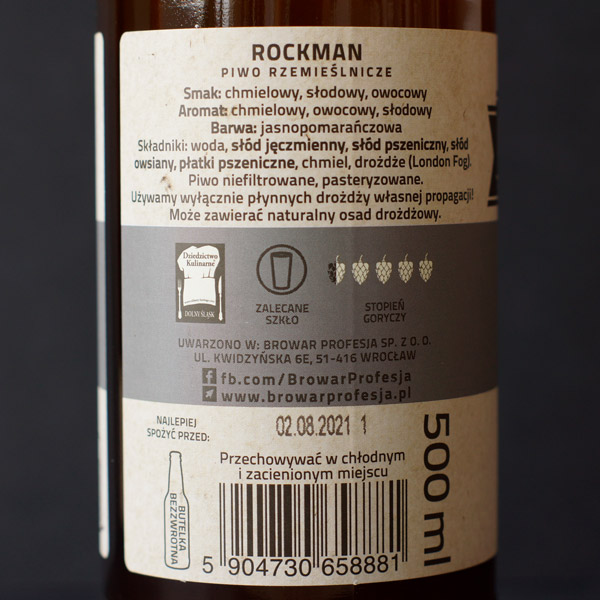 Rockmill; Rockman; Craft Beer; Remeselné Pivo; Salon piva; Beer Station; Fľaškové pivo; DDH Hazy Polish IPA; New England IPA; Distribúcia piva; Poľský pivovar; Poľské pivo