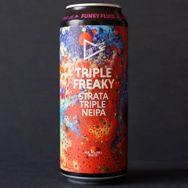 Funky Fluid; Triple Freaky; Craft Beer; Remeselné Pivo; Pod vrchnakom; Beer Station; Plechovkové pivo; Triple NEIPA; Distribúcia piva; Poľské pivo