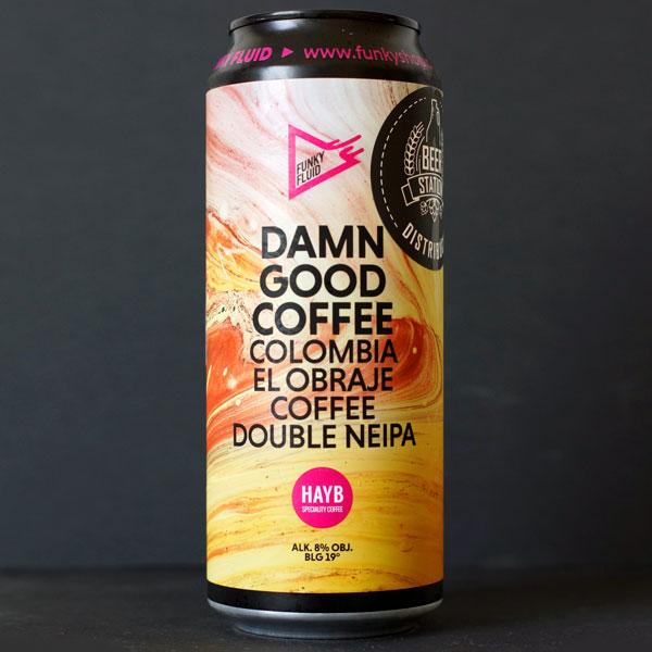 Funky Fluid; Damn Good Coffee: Colombia El Obraje ; Craft Beer; Remeselné Pivo; Pod vrchnakom; Beer Station; Plechovkové pivo; Double NEIPA; Distribúcia piva; Poľské pivo