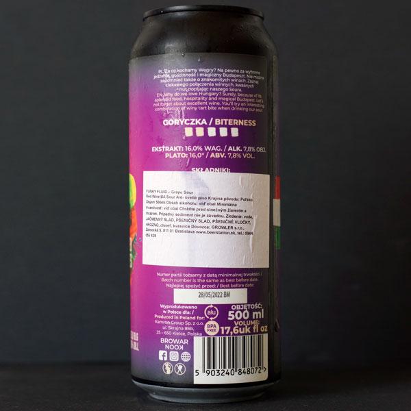 Nook; Grape Sour Red Wine BA; Craft Beer; Remeselné Pivo; Pod vrchnakom; Beer Station; Plechovkové pivo; Sour Ale; Maryensztadt; Distribúcia piva; Poľské pivo