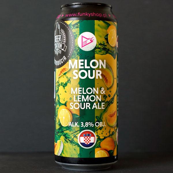 Funky Fluid; Melon Sour; Craft Beer; Remeselné Pivo; Salon piva; Beer Station; Plechovkové pivo; Sour Ale; Distribúcia piva; Poľský pivovar