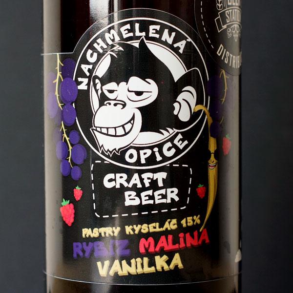 Nachmelená Opice; Rozvoz piva; Remeselné pivo; Živé pivo; Beer Station; Remeselný pivovar ; Pastry Sour Ale