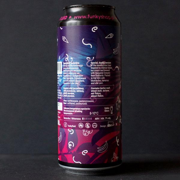 Funky Fluid; Double Gelato: Blue Velvet; Remeselné Pivo; Pod vrchnakom; Beer Station; Plechovkové pivo; Ice Cream Pastry Sour Ale; Distribúcia piva; Poľské pivo