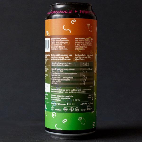 Funky Fluid; Free Gelato: Passion Fruit & Mango AF; Remeselné Pivo; Pod vrchnakom; Beer Station; Plechovkové pivo; Ice Cream Pastry Sour Ale; Distribúcia piva; Poľské pivo
