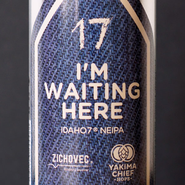 I´m Waiting Here 17°; Zichovec plechovka; Zichovec; Beer Station; pivo e-shop; remeselné pivo; remeselný pivovar; craft beer Bratislava; živé pivo; NEIPA; pivo