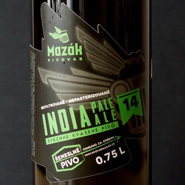 Mazák; IPA 14°; Rozvoz piva; Remeselné pivo; Živé pivo; Beer Station; Remeselný pivovar ; IPA