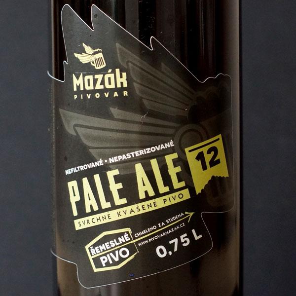 Mazák; Pale Ale 12°; Rozvoz piva; Remeselné pivo; Živé pivo; Beer Station; Remeselný pivovar; Pale Ale