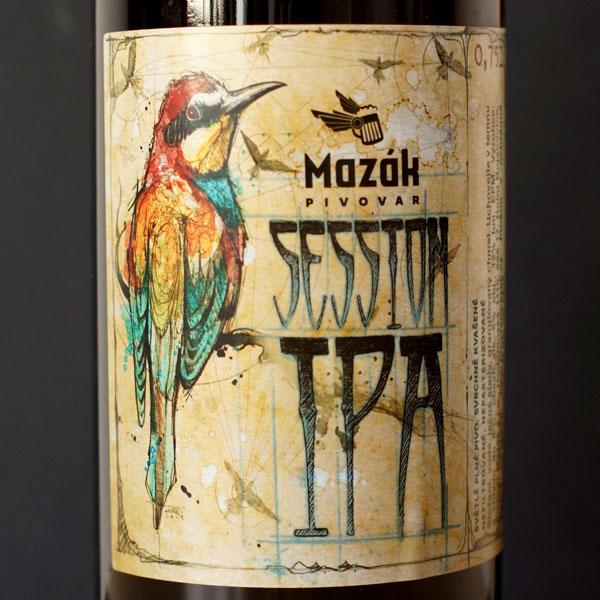 Mazák; Session IPA 12°; Rozvoz piva; Remeselné pivo; Živé pivo; Beer Station; Remeselný pivovar ; Session IPA
