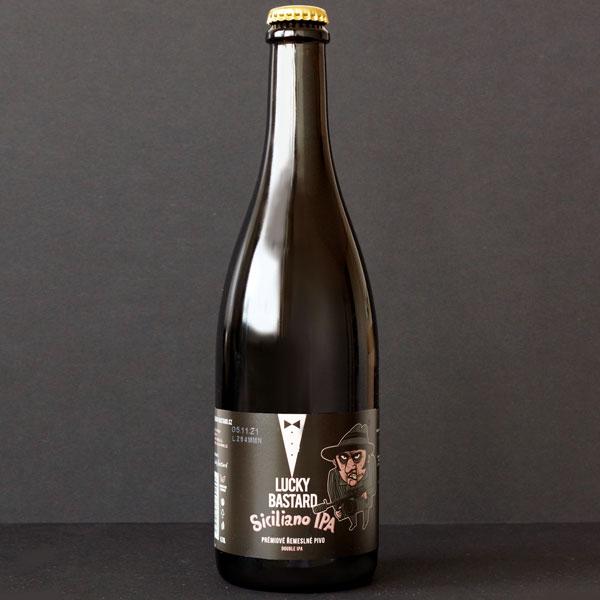 Siciliano IPA 17; Lucky Bastard; Pivo eshop; remeselné pivo; živé pivo; craft beer; Fľaškové pivo; Beer Station; Rozvoz piva; pivo