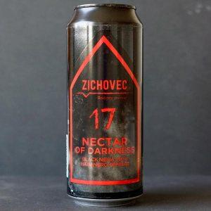 Nectar of Darkness 17°; Zichovec plechovka; Zichovec; Beer Station; pivo e-shop; remeselné pivo; remeselný pivovar; craft beer Bratislava; živé pivo; Black NEIPA; pivo