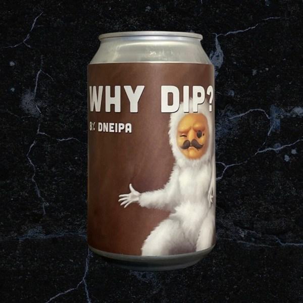Why Dip? 19°; Lobik plechovka; Lobik; Beer Station; pivo e-shop; remeselné pivo; remeselný pivovar; craft beer Bratislava; živé pivo; Double NEIPA; pivo
