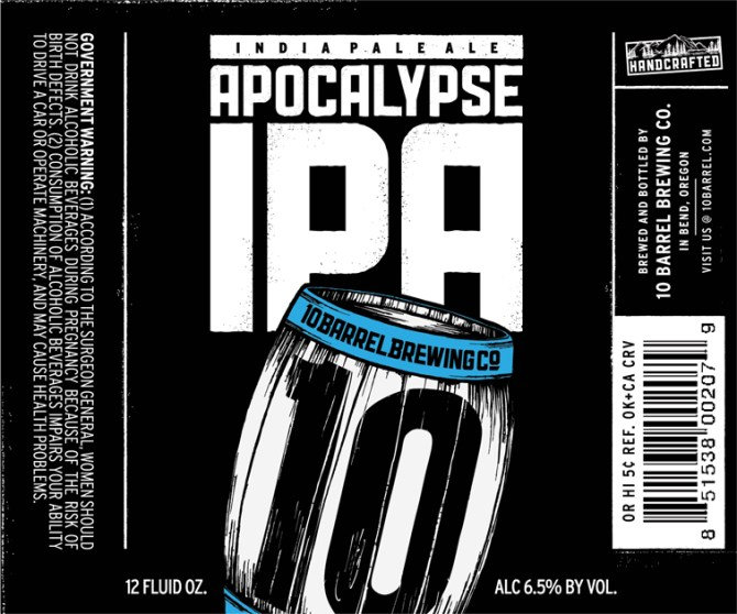 10 Barrel Brewing Apocalypse IPA