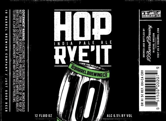 10 Barrel Brewing Hop Rye'It