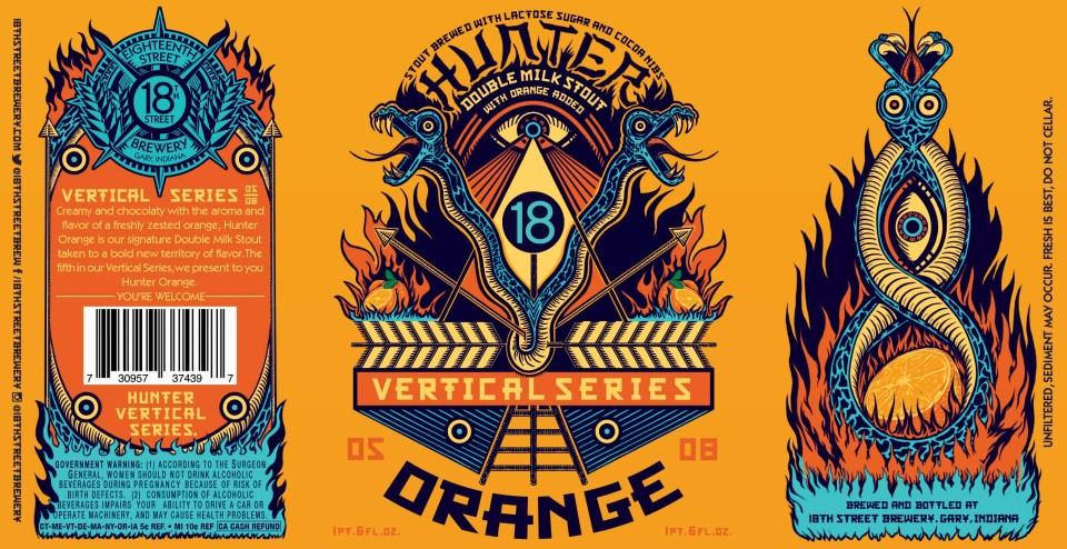 18th Street Brewery Hunter Orange