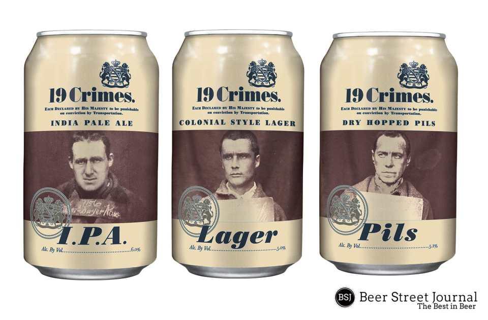 19 Crimes Beer