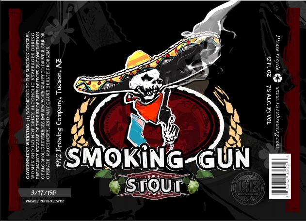 1912 Smoking Gun Stout
