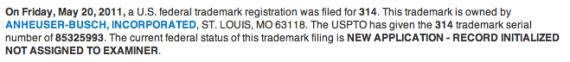 AB Trademarking Area Codes