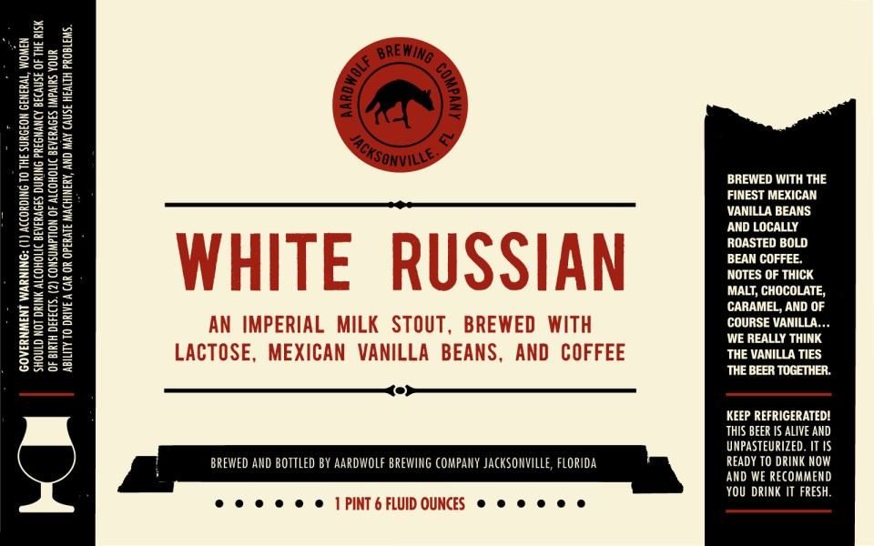 Aardwolf Brewing White Russian