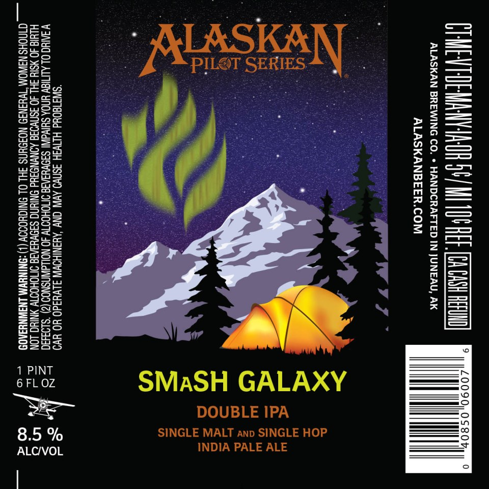 Alaskan Smash Galaxy