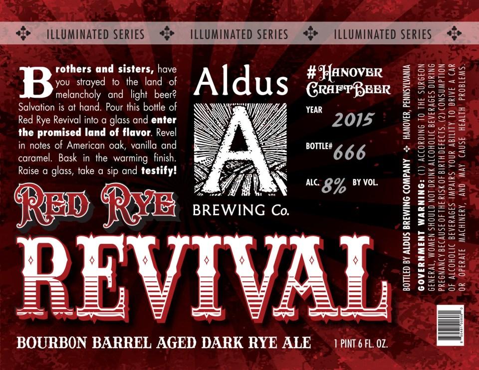 Aldus Brewing Red Rye Revival