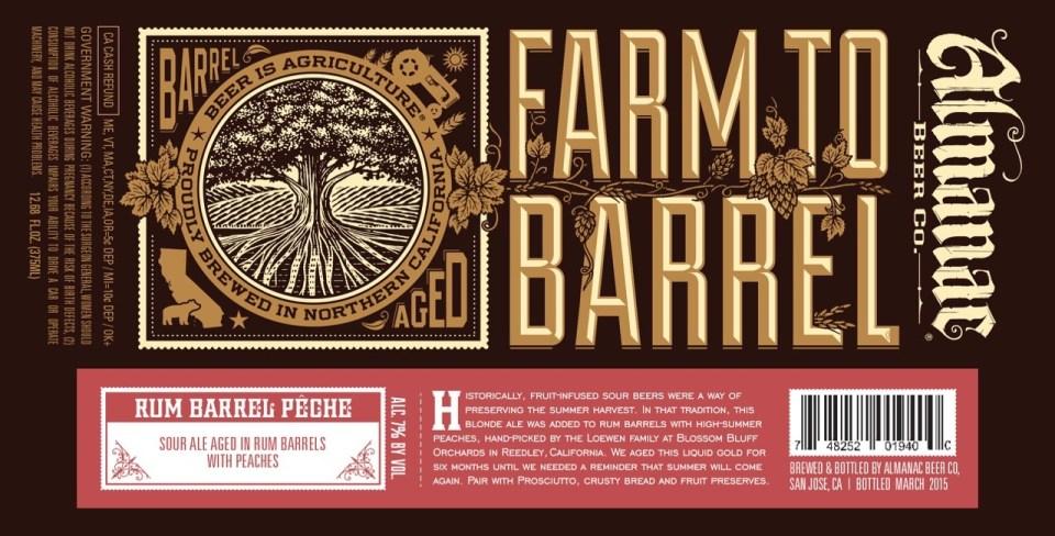 Almanac Rum Barrel Peche