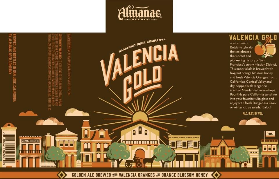 Almanac Valencia Gold