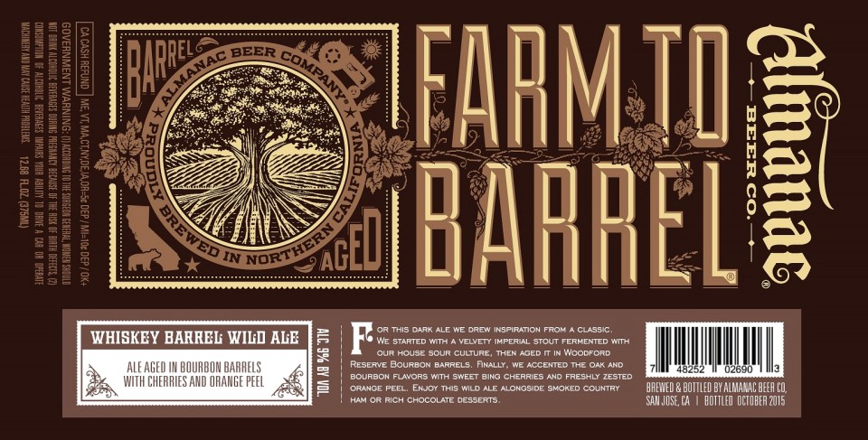 Almanac Whiskey Barrel Wild Ale