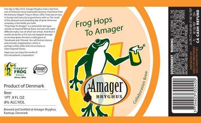 Amager Frog Hops To Amager