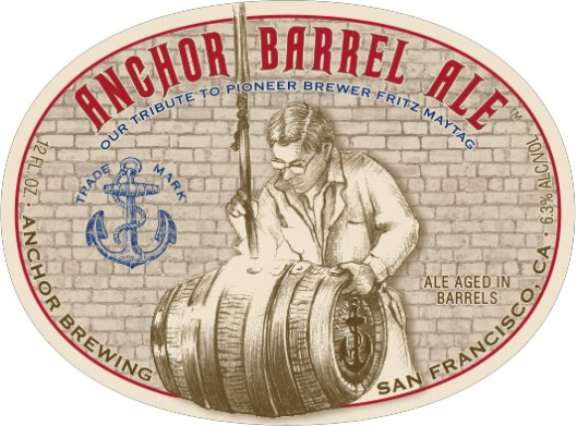 Anchor Barrel Ale Label