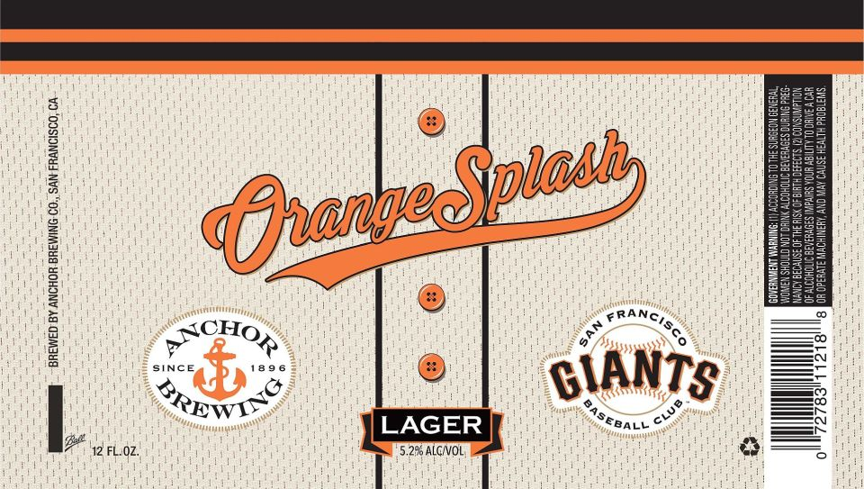 Anchor Orange Splash Lager