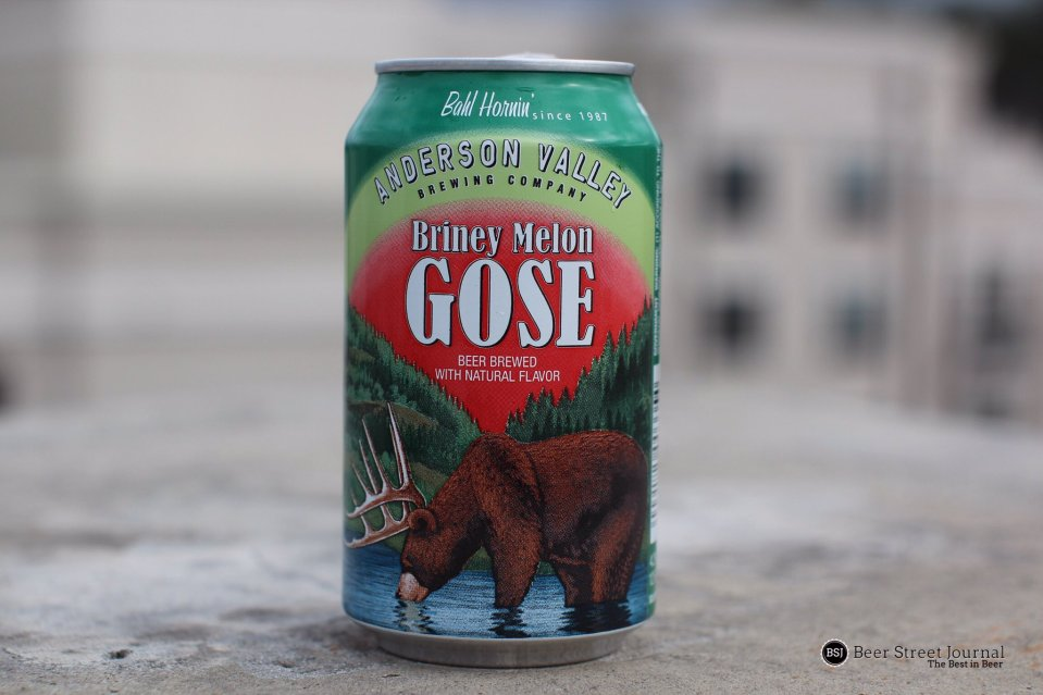 Anderson Valley Briney Melon Gose can
