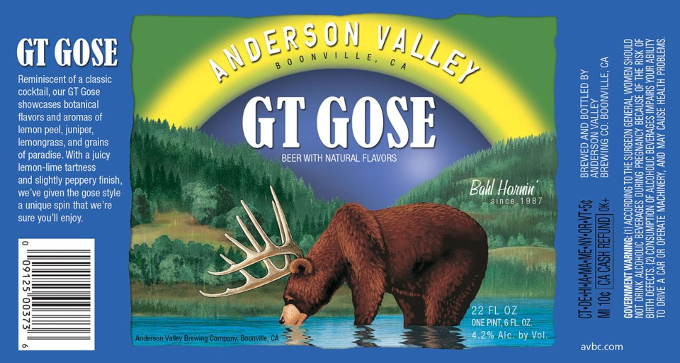 Anderson Vally GT Gose