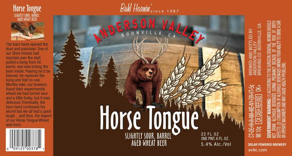 Anderson Valley Horse Tongue