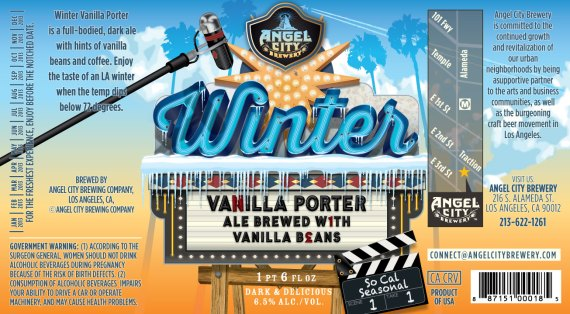 Angel City Winter Vanilla Porter