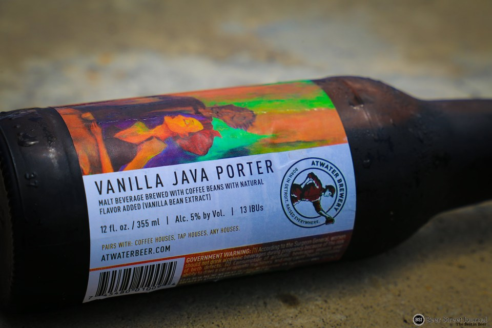 Atwater Vanilla Java Porter Bottle