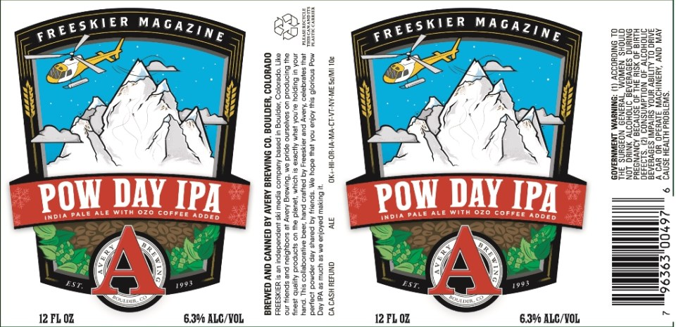 Avery Pow Day IPA
