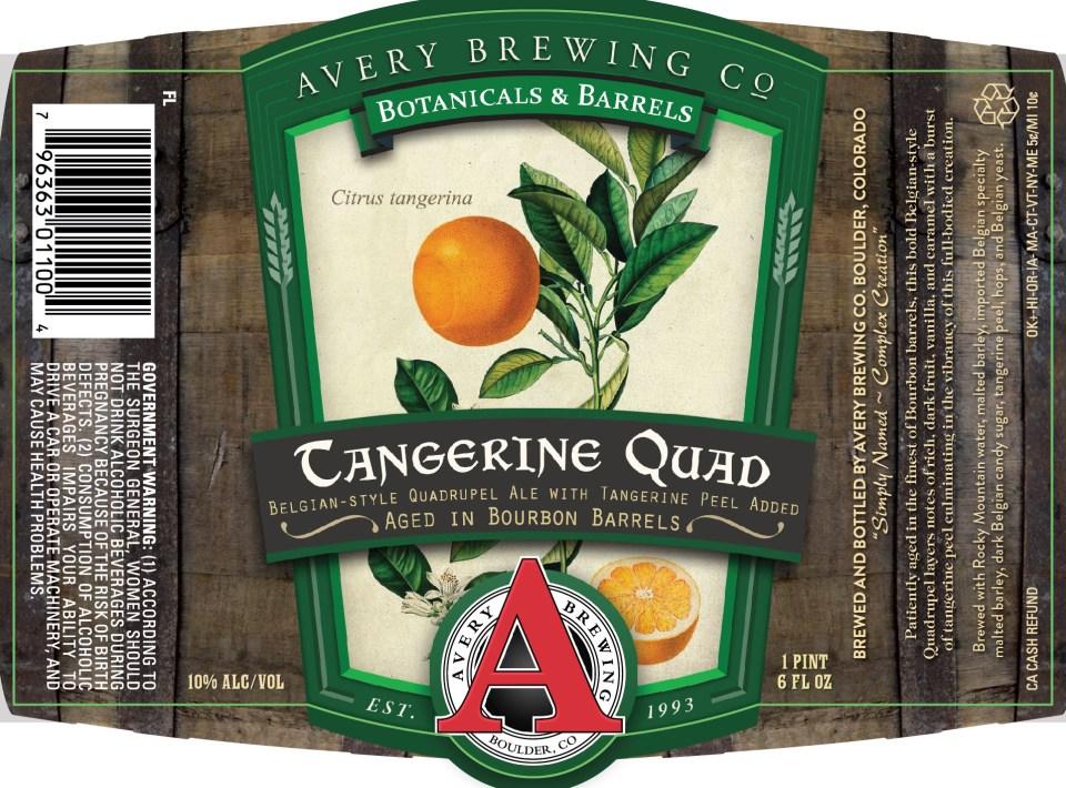 Avery Tangerine Quad