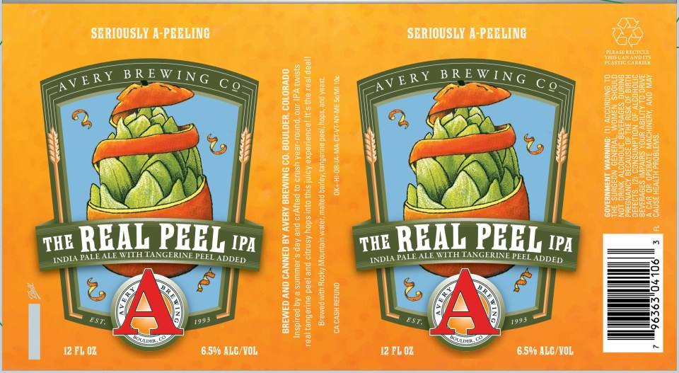 Avery The Reel Peel IPA