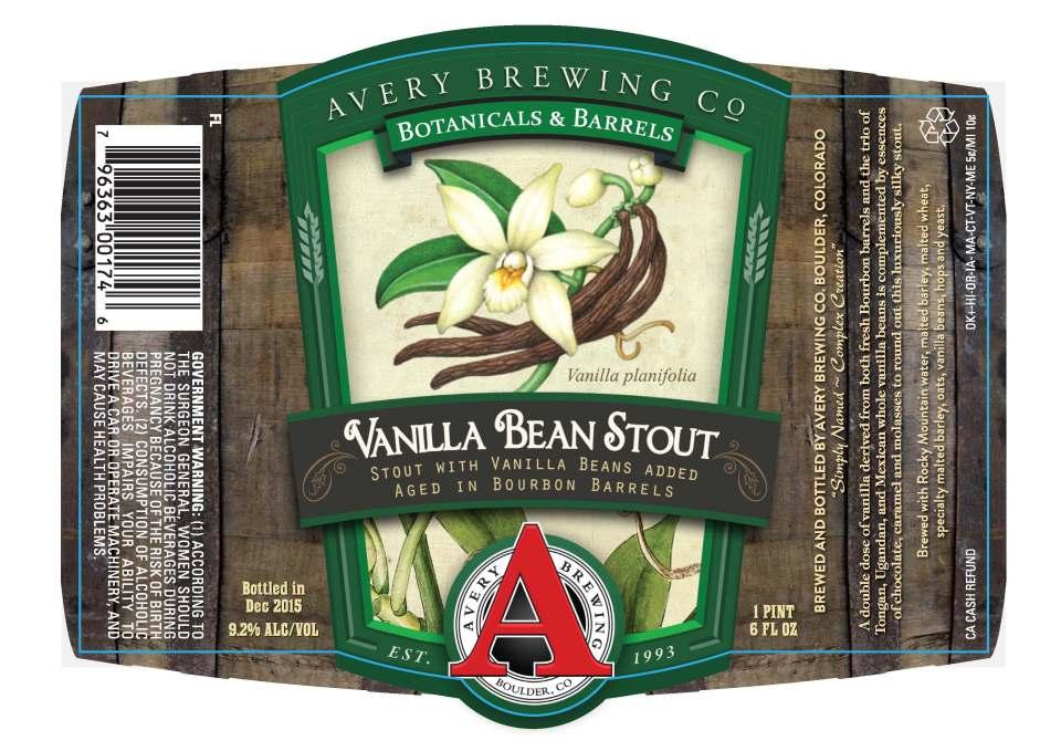 Avery Vanilla Bean Stout