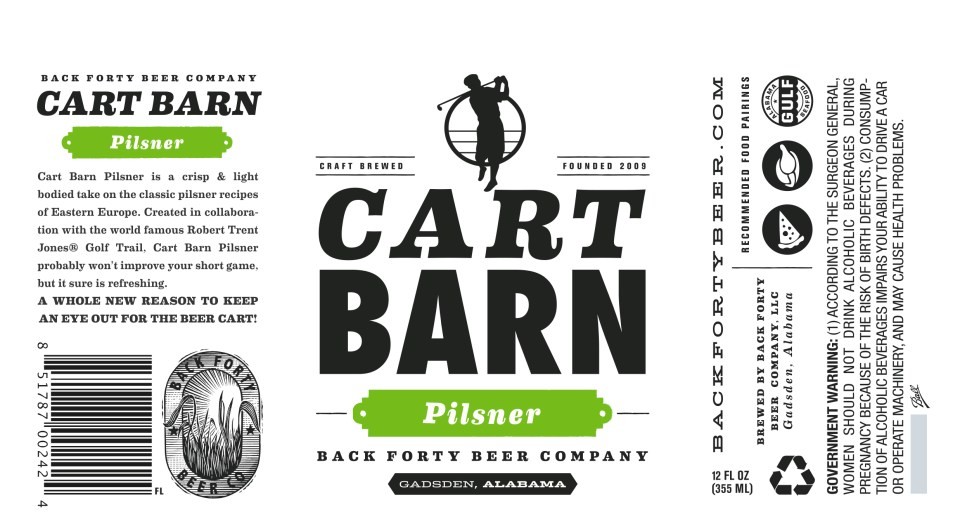 Back Forty Cart Barn Pilsner