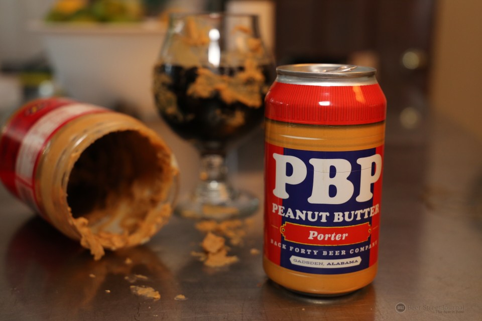 Back Forty Peanut Butter Porter