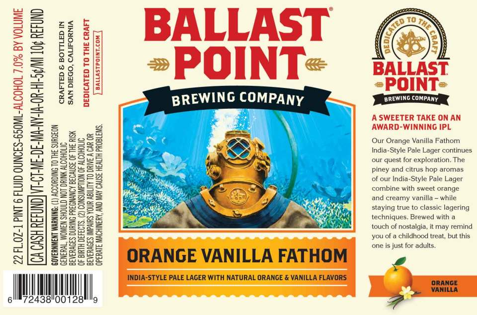 Ballast Point Orange Vanilla Fathom